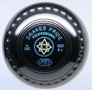 Boule de bowling professionnelle, lourde densité, fossettes de prise en main, noir, 3