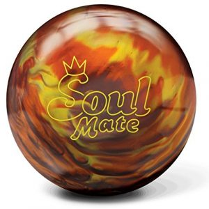Brunswick Soul Mate Bowling Ball- Orange Fire Pearl (12lbs) by Brunswick Bowling Products