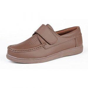 Dek Adultes/Unisexe Fermeture Scratch Chaussures De Bowling – Brun Clair, EU 41