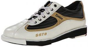 Dexter SST 8 Chaussures de bowling pour homme Blanc Blanc/noir/doré US 12, UK 10.5
