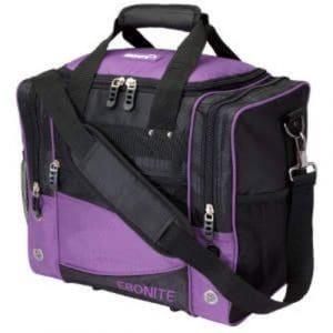 Ebonite Impact Sac de transport pour boule de Bowling Noir/Violet