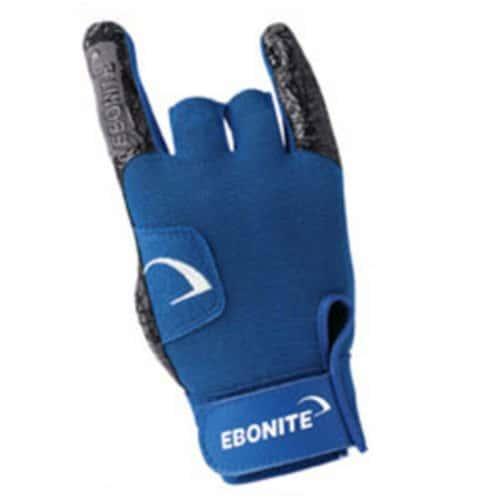 Ebonite React-R Gant de Bowling pour droitier Palme-Noir-Taille S