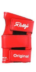 Robby's vinyle Original Gant de poignet pour Bowling Poignet gauche rouge Rouge petit