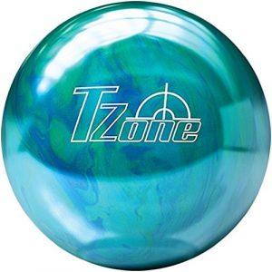 Brunswick TZone Caribbean Blue Bowling Ball (9-Pounds) by Brunswick