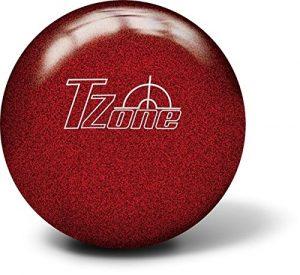 Boule de bowling de bowling Brunswick Zone T Cosmic–Candy Apple Red