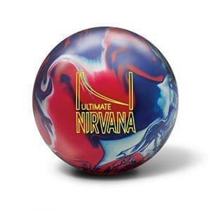 Brunswick Ultimate Nirvana boule Bowling Unisexe Adulte, Ultimate Nirvana, Rouge, bleu