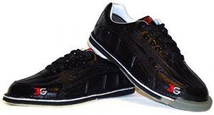 Chaussures de bowling larges pour homme 3G avec tour en wechselsohle -hacke/ultra-déchirures Noir US 7 (39.5)