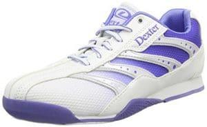 Dexter Heidi Chaussures de bowling pour femme Blanc Blanc/violet US 6, UK 3.5