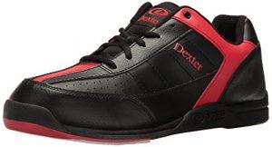 Dexter Ricky III Chaussures de bowling pour homme Noir/Rouge Noir schwarz – schwarz/red US 8, UK 6.5