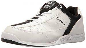Dexter Ricky III Chaussures de bowling pour homme Blanc blanc/noir US 9, UK 7.5