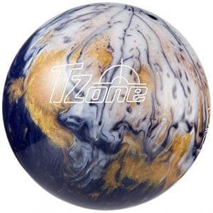 Brunswick T Zone Gold Envy boule Bowling Unisexe Adulte, T Zone Gold Envy, Gris / Jaune / Blanc
