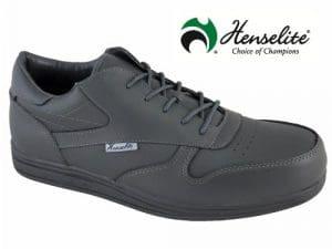 Henselite , Chaussures de bowling pour homme – Gris – gris, 8 UK