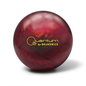 Brunswick Quantum Fire Pearl Boule Bowling Unisexe Adulte, Quantum Fire Pearl, Bleu / violet / Orange
