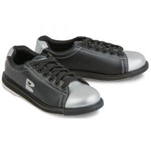 Brunswick T Zone Chaussures BOWLING unisexe adulte, T Zone, Noir/argenté