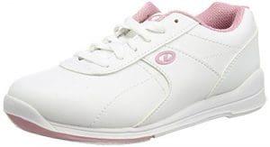 Dexter Raquel III Chaussures de bowling pour femme Blanc/rose, nous: 8, Royaume-Uni: 5,5