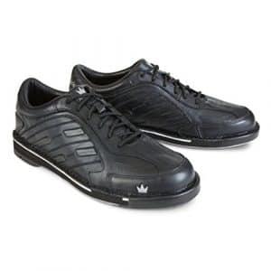 Brunswick homme Team Chaussures de bowling pour Wide-black Main droite, Homme, BRU58502101RHW8, Noir, 8 WIDE