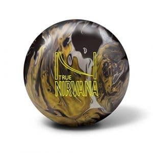 Brunswick True Nirvana Boule Bowling Unisexe Adulte, True Nirvana, Noir/Jaune
