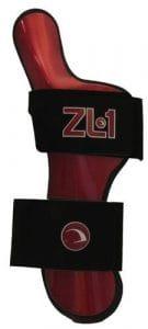 Ebonite ZL-1 Gant de bowling positionneur de poignet non réglable pour droitier Noir Taille L
