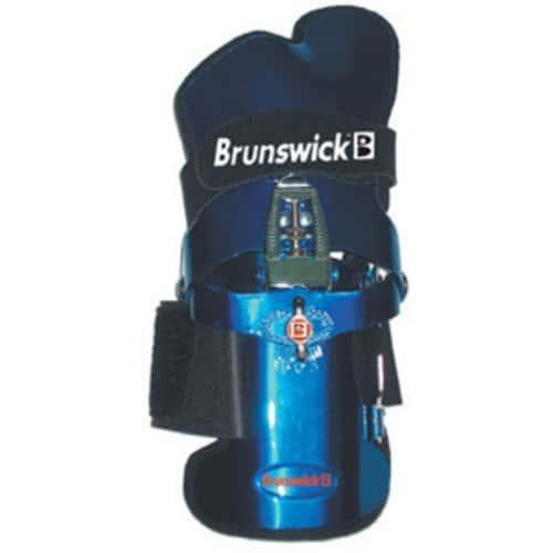 Brunswick Powrkoil Gant de poignet pour bowling Bleu Bleu XL/gaucher