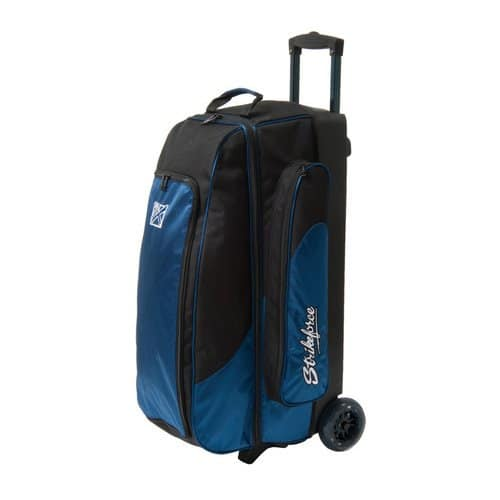 KR Strikeforce Cruiser Sac de bowling à roulettes triple Bleu
