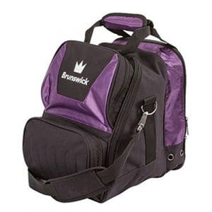 Brunswick Couronne de Sac de Bowling Simple, Violet