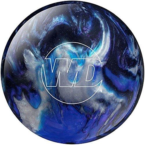 WD Columbia 300 White Dot Boule de bowling Bleu Blue/black/silver 9 lb lb