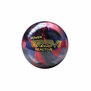 Brunswick Power Groove ilusiona Boule Bowling Unisexe Adulte, Power Groove Ilusiona, Grenat/Bleu