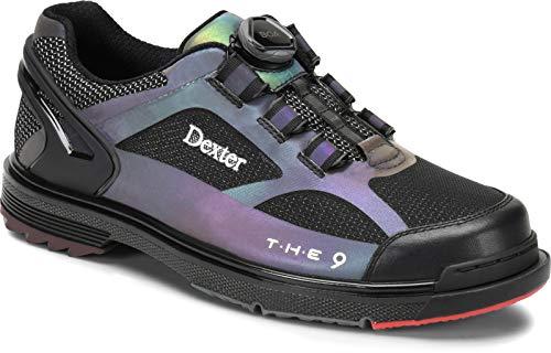 Dexter The 9 HT BOA Chaussures de Bowling pour Homme et Femme avec Semelle Amovible, système de Fermeture BOA dans Les Tailles 39,5-45,5 et Mein-Bowlingshop, 42.5