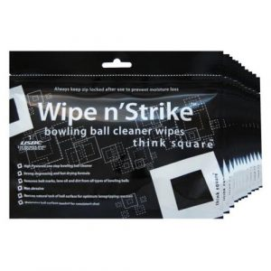 Bowling Ball Cleaner Wipe 'N' Strike Wipes by Think Square