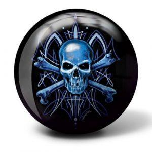 Brunswick Skull Viz A Ball Bowling Ball (12lbs) by Brunswick