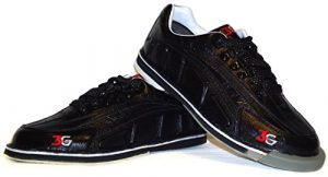 Chaussures de bowling larges pour homme 3G avec tour en wechselsohle -hacke/ultra-déchirures Noir US 12 (44.5)