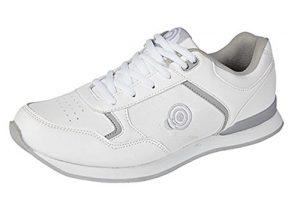 Dek , Chaussures de bowling pour homme – blanc – blanc,