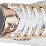 Dexter Groove IV – Chaussures de bowling pour femme à droite et à gaucher – Blanc/nubuck/or rose – Chaussures de bowling pour femme – Pour droitiers et gauchers – Tailles 35-41 et Mein-Bowlingshop, 39