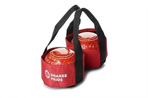 Drakes Pride Sac pour 2 boules de bowling Rouge rot – Maroon