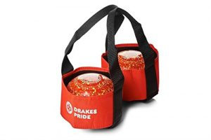 Drakes Pride Sac pour 2 boules de bowling Rouge rot – rot