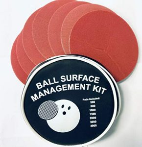 EMAX Bowling Ball Surface Management Kit de ponçage