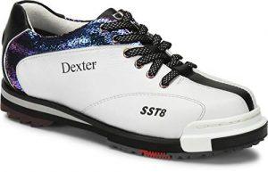 EMAX Bowling Service GmbH MAXIMIZE YOUR GAME Dexter SST 8 Pro Chaussures de Bowling pour Femme avec Semelle Amovible pour droitier et gaucher, 35,5