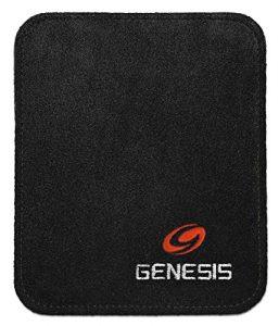 Genesis Pure Pad Boule de Bowling à essuyer Pad-, Noir
