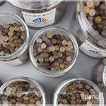 Huanyu Billes de broyage en agate 1500g pour broyeur à boulets planétaire de laboratoire