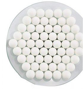 Huanyu Boules de broyage d'oxyde de zirconium stabilisées par yttrium de 1500g pour le broyeur à boulets planétaire de laboratoire