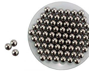 Huanyu Boules de meulage de carbure de tungstène 800g pour le broyeur à boulets planétaire de laboratoire