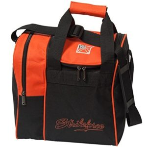 KR Strike force Rook 1balle de Single Sac de bowling Disponible en plusieurs couleurs avec espace pour football et chaussures, Orange