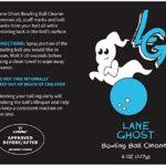 Lane Ghost Kit de Nettoyage pour Boules de Bowling – Approuvé par USBC – Nettoyant pour Huile, éraflures et Marques de Ceinture – Restaure la Prise et Prolonge la durée de Vie de la Balle
