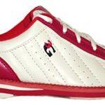 Chaussures de bowling 3G Kicks, pour homme et femme, pour droitiers et gauchers 38,5 blanc/rose