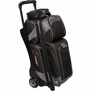 Hammer Premium Sac de bowling à triple rouleau, Noir/carbone (rennewed)