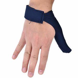 Haokaini Gants de Bowling Bowling Pouce Économiseur Droite Gauche Poignée de Main Protection Gant de Protection