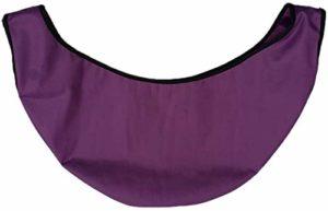 N /A – Sac de rangement et de nettoyage pour boule de bowling avec cordon, violet