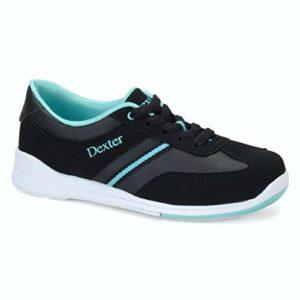 Dexter Dani Chaussures de Bowling, Femme, DX42741 080, Noir/Turquoise, 8.0