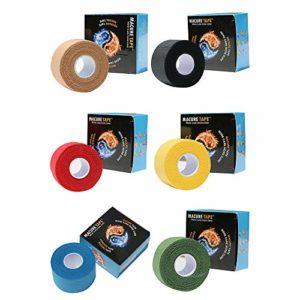 Ruban de sport 8cm * 10 m Kinésiologie Tape Strapping Ruban Athlète Sport bande auto-Muscle Sport de ruban adhésif Ruban athletique Sport (Color : Skin color)