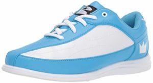 Brunswick Bliss Chaussures de Bowling pour Femme, Femme, 58104206 065, Bleu/Blanc, 6.5